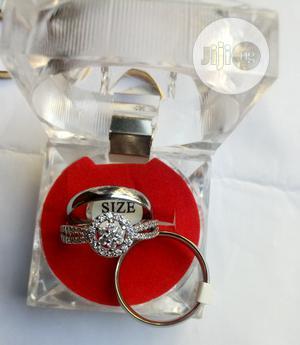 Silver Wedding Ring Set | Wedding Wear & Accessories for sale in Lagos State, Lagos Island (Eko)