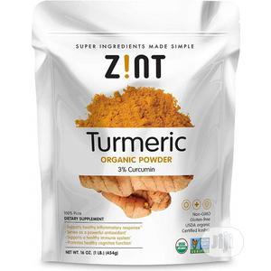 Zint Organic, Turmeric Powder, 1 Lbs (227g)   Vitamins & Supplements for sale in Lagos State, Amuwo-Odofin