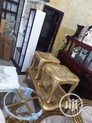 Royal Table and Side Stool   Furniture for sale in Lagos State, Ojo