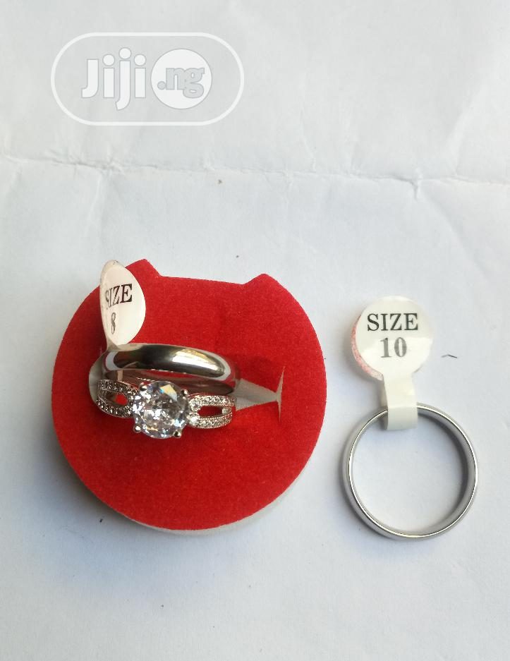 Archive: Silver Wedding Ring Set