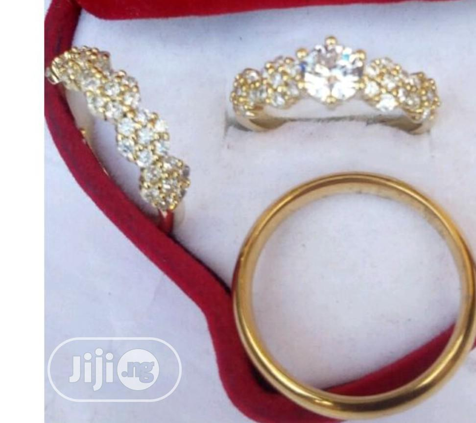 Archive: Classic Gold Plated Wedding Ring