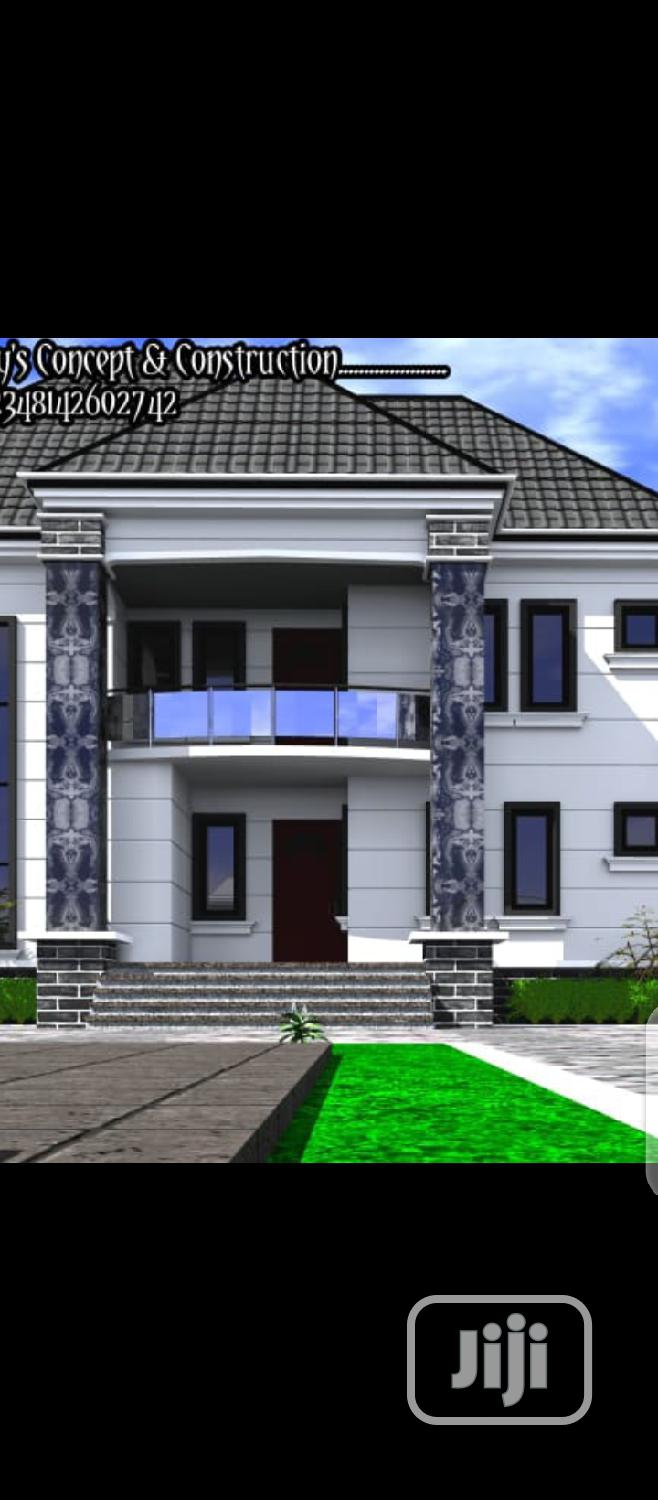 Duplex Architectural Drawing