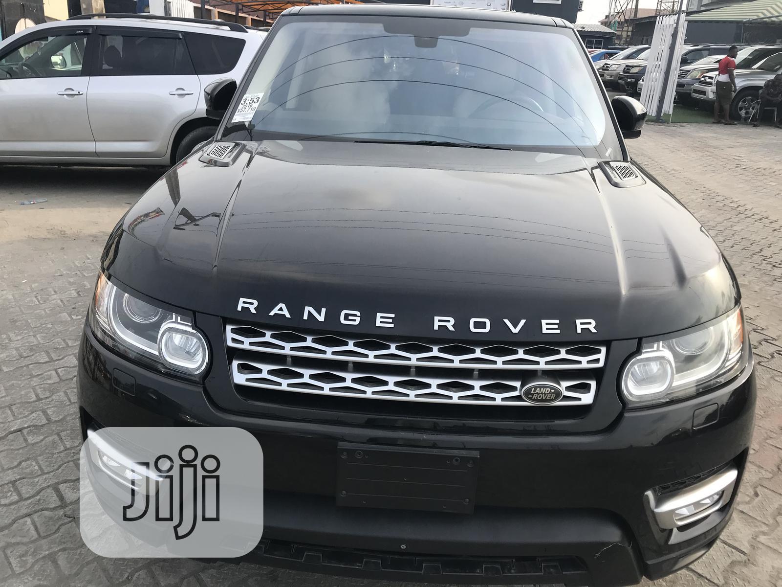 Land Rover Range Rover Sport 2016 SE 4x4 (3.0L 6cyl 8A) Black