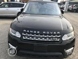 Land Rover Range Rover Sport 2016 SE 4x4 (3.0L 6cyl 8A) Black | Cars for sale in Lagos State, Ajah