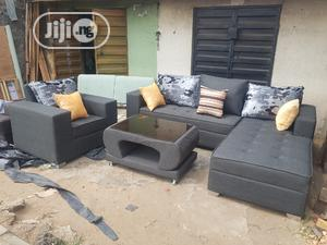 Modern L Shape With Single &Center Table | Furniture for sale in Lagos State, Ejigbo