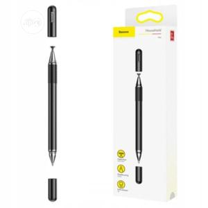 Baseus Golden Cudgel Capacitive Stylus Pen - Black   Accessories for Mobile Phones & Tablets for sale in Lagos State, Ikeja