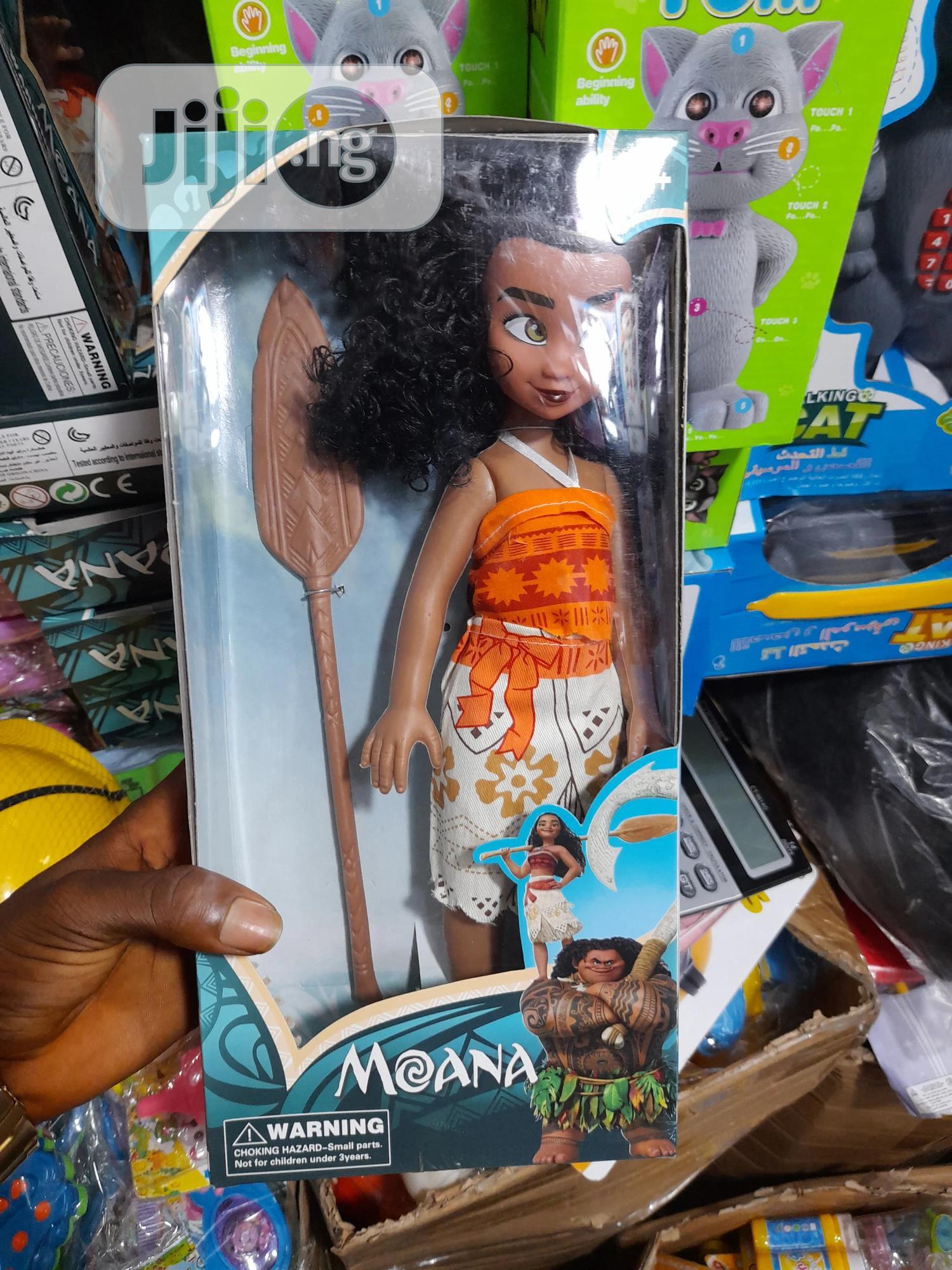 Archive: Moana Doll II