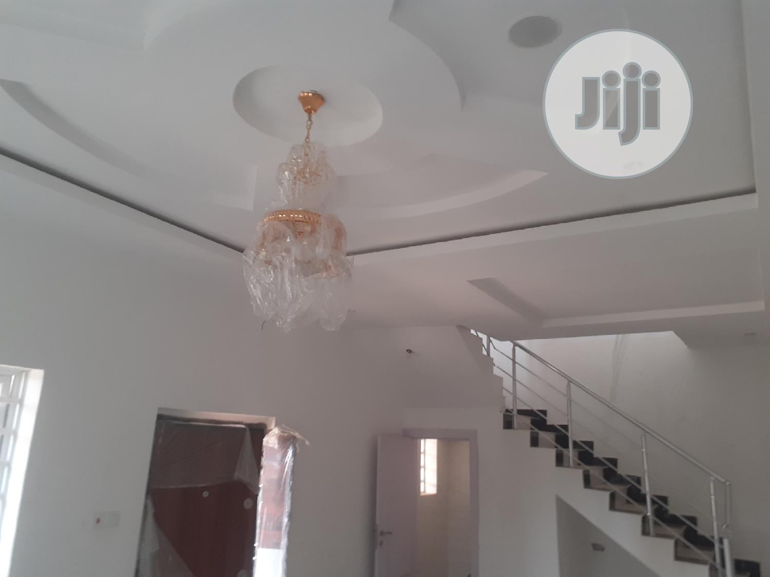 Brown New 4bedroom Terrace Duplex Inside Creek Court Avenue | Houses & Apartments For Sale for sale in Ajah, Lagos State, Nigeria