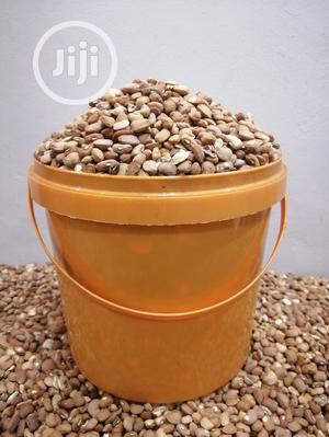 25kg Bags of Beans (7 Custard Buckets) Brown, Butter White | Meals & Drinks for sale in Edo State, Benin City