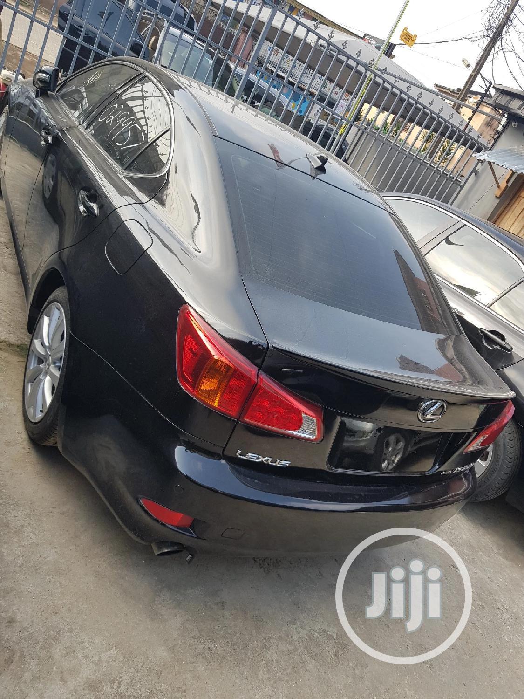 Lexus IS 2010 250 C Automatic Black | Cars for sale in Shomolu, Lagos State, Nigeria