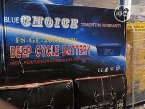 Blue Choice Inverter Battery 12v 200ah | Solar Energy for sale in Lagos State, Ojo