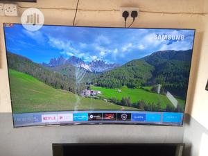 """Super Curved 65"""" Samsung Suhd Quantum Dot Curved Tv {KS8500 