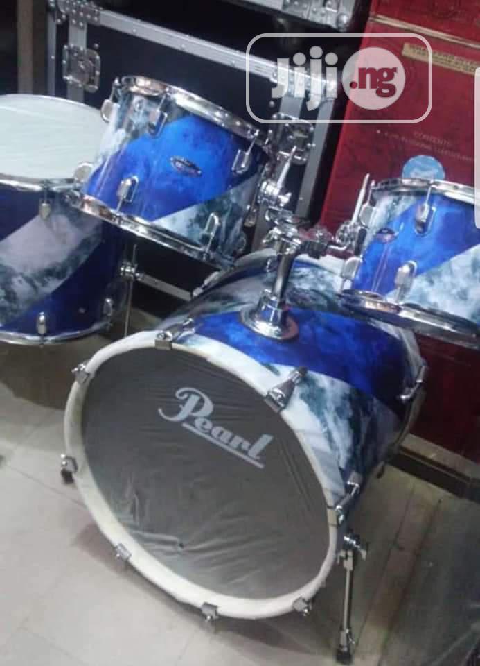 Archive: Pearl Acoustic Drum Set