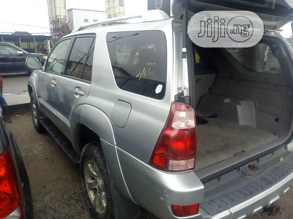 Toyota 4-Runner 2005 Sport Edition V6 4x4 Silver | Cars for sale in Kosofe, Lagos State, Nigeria