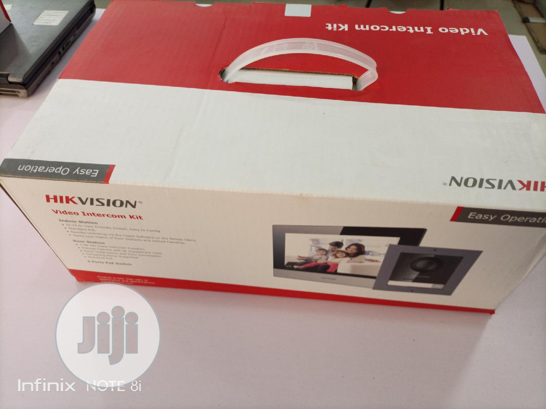 Hikvision IP Video Door Phone DS-KIS602 Video Intercom Kit | Safetywear & Equipment for sale in Ikeja, Lagos State, Nigeria