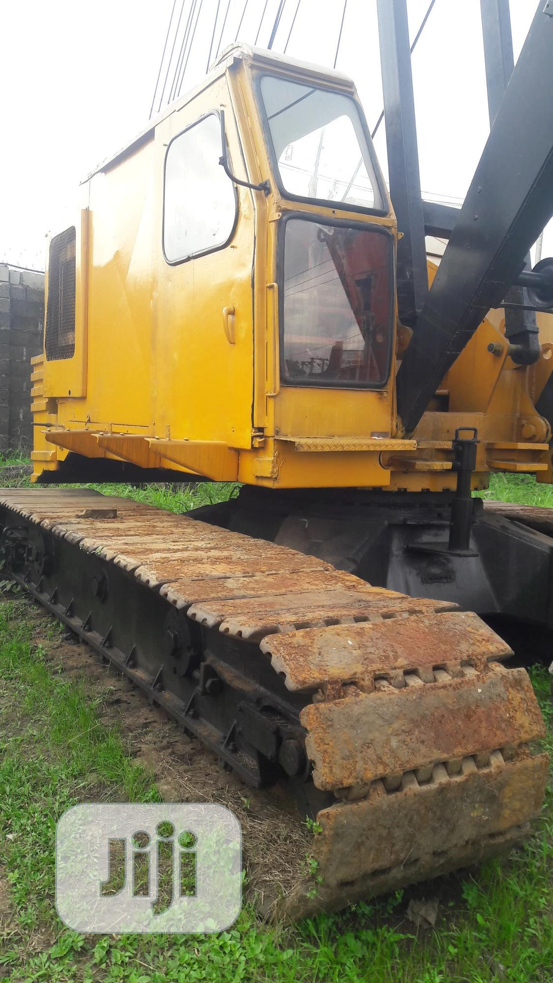 Neatly Used 60tonnes NCK Rappier Crawler Crane | Heavy Equipment for sale in Port-Harcourt, Rivers State, Nigeria