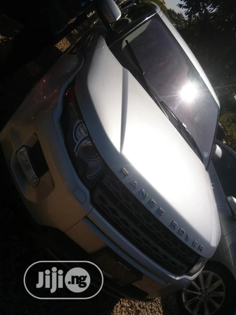 Land Rover Range Rover Evoque 2013 Pure Awd 5 Door Silver In Gwarinpa Cars Kla Sico Jiji Ng