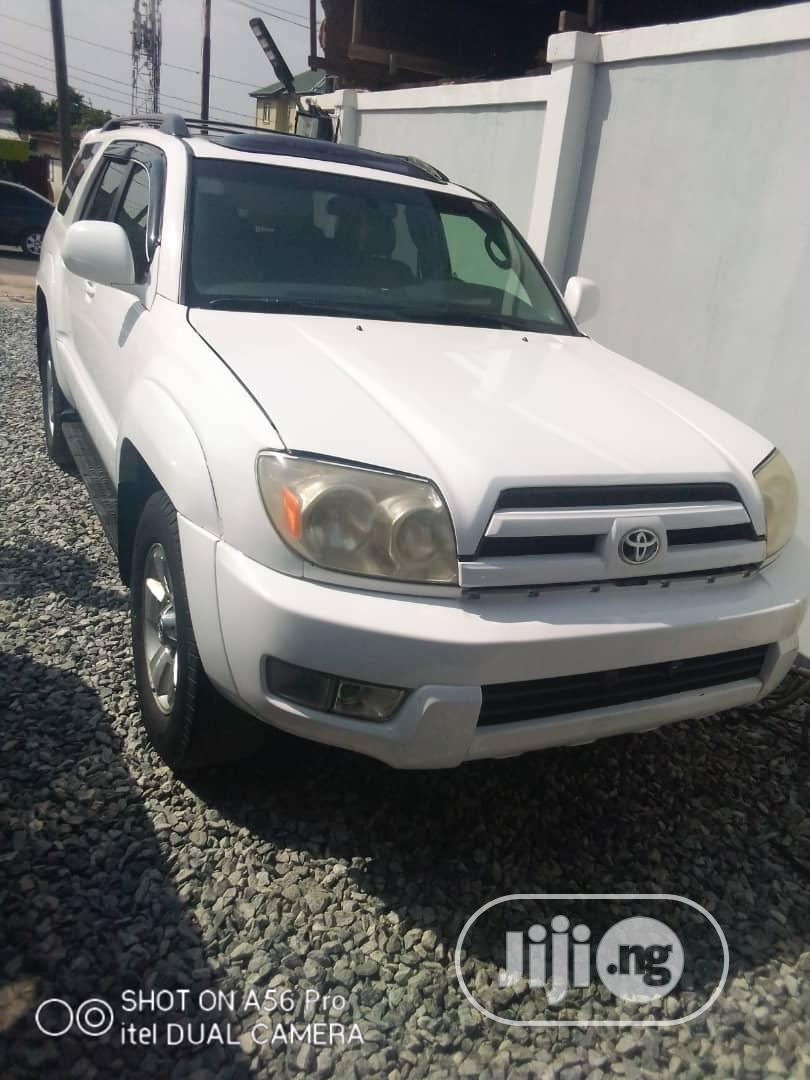 Toyota 4 Runner 2005 Limited V8 White In Ogba Cars Yinka Awolola Jiji Ng