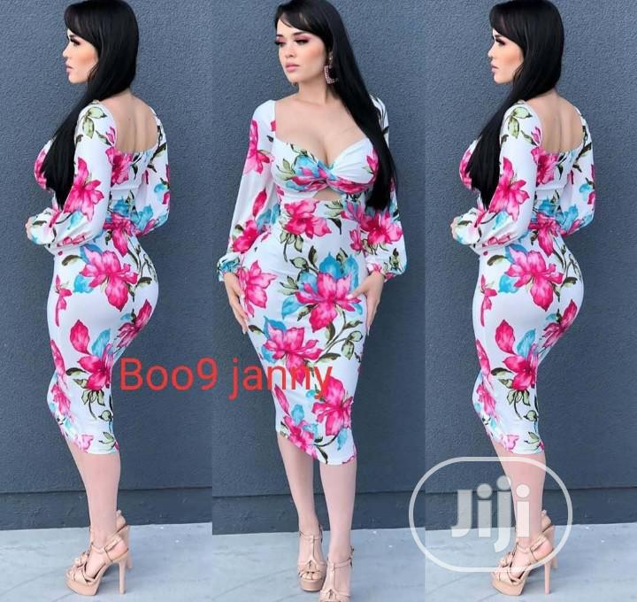 Boo9 Janny Quality Fitted Gown | Clothing for sale in Ikeja, Lagos State, Nigeria