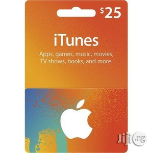 iTunes Gift Card (USA) - $25 | Accessories for Mobile Phones & Tablets for sale in Abuja (FCT) State, Gudu