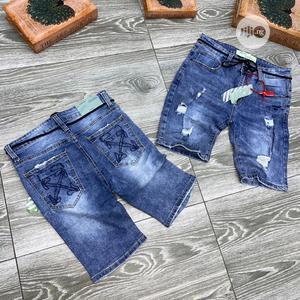 Original Off White Shorts Jeans Design   Clothing for sale in Lagos State, Lagos Island (Eko)
