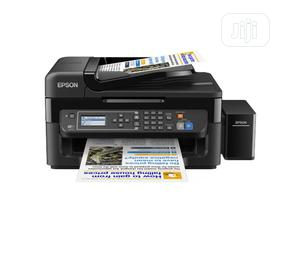 Epson L565 Multifunction Printer, Scanner, Copy, Fax -Mr8   Printers & Scanners for sale in Lagos State, Alimosho