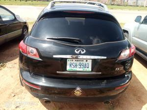 Infiniti FX35 2003 Black   Cars for sale in Abuja (FCT) State, Lugbe District