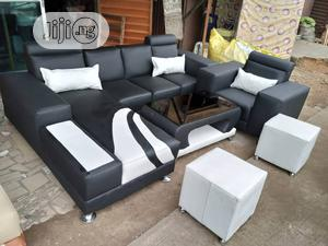 7 Seater Lshape Chair   Furniture for sale in Lagos State, Agege