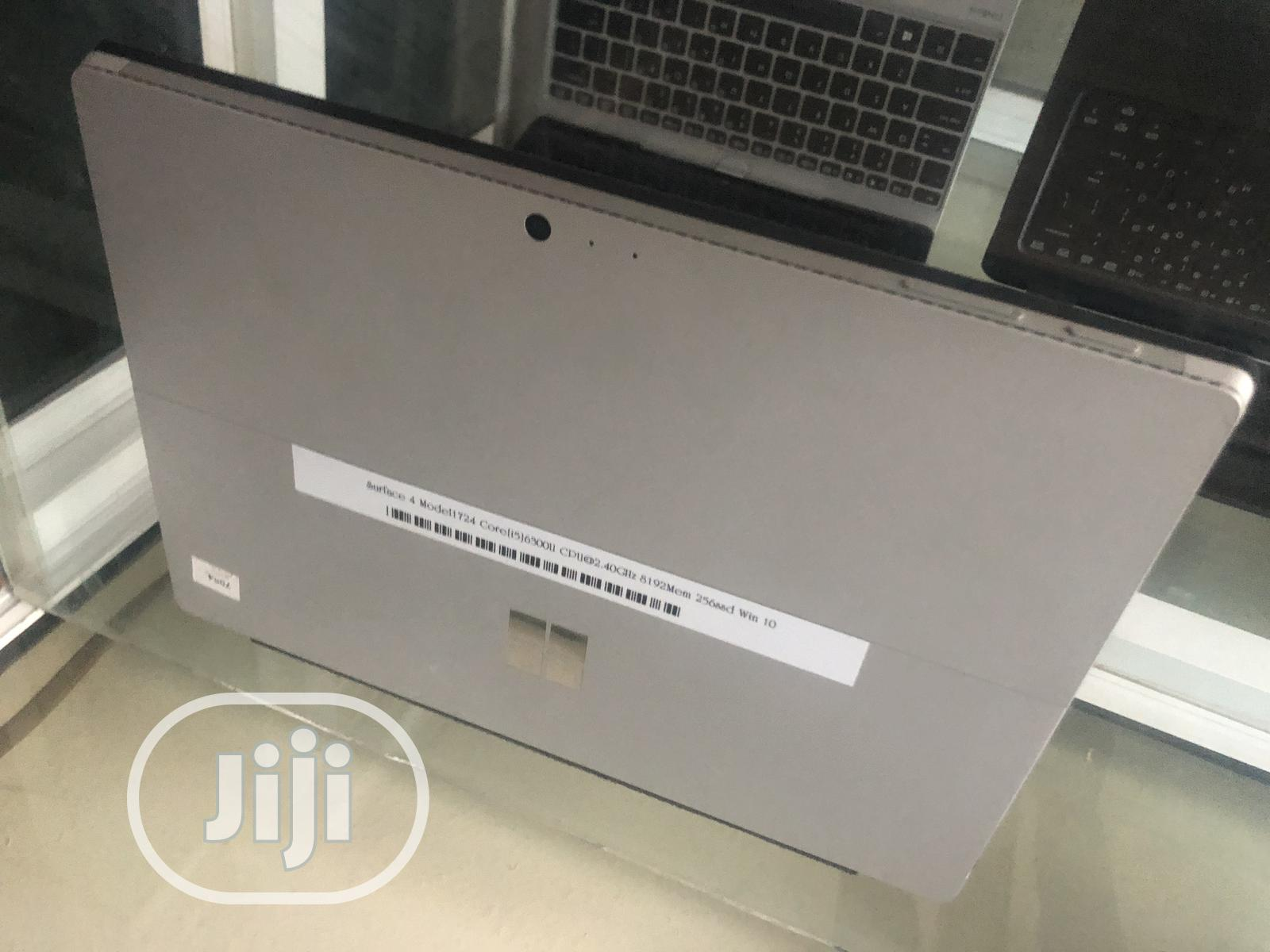Laptop Microsoft Surface Pro 4 8GB Intel Core i5 SSD 256GB | Laptops & Computers for sale in Wuse 2, Abuja (FCT) State, Nigeria