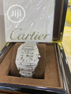 Cartier Iced Chain Watch | Watches for sale in Lagos State, Surulere