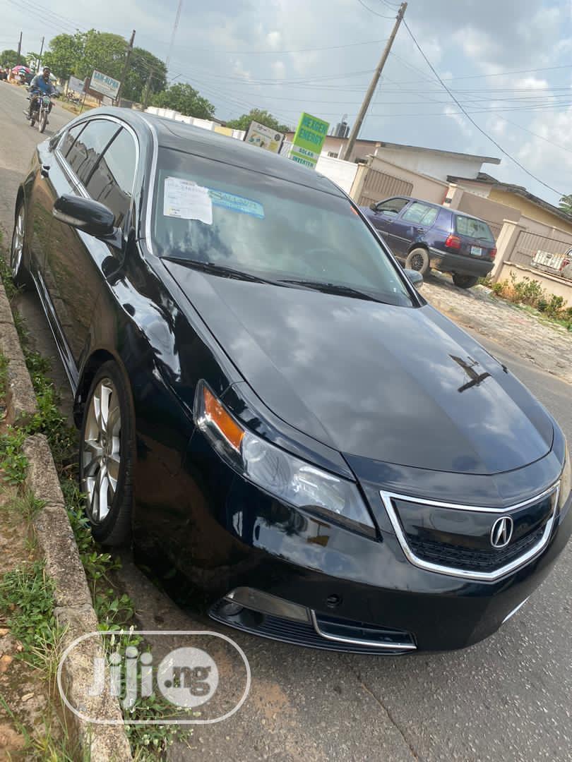 Acura Tl 2013 Black In Lekki Cars Tega Odjede Jiji Ng
