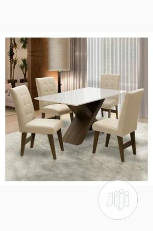Handy Dining Table Set Off White | Furniture for sale in Abuja (FCT) State, Wuse
