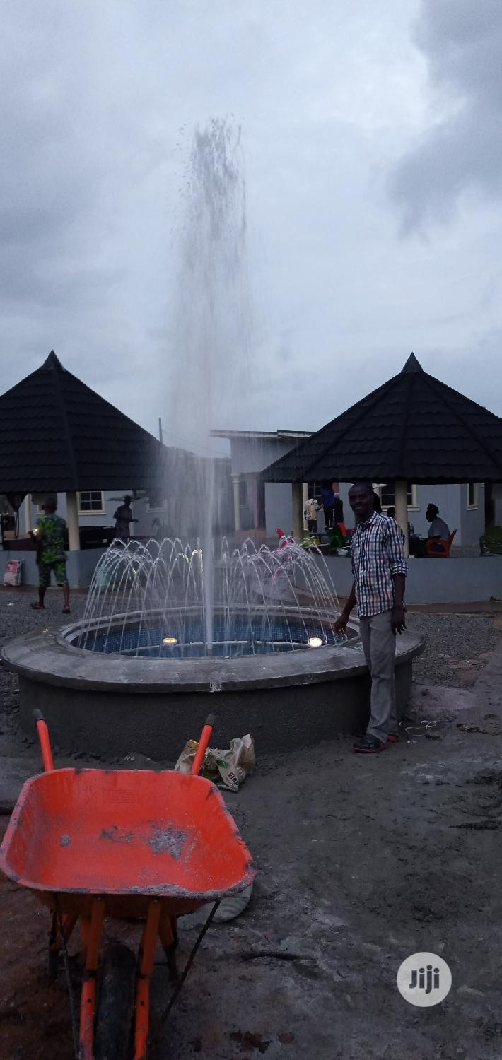 We Build Creative Water Fountains Suit For Any Place | Building & Trades Services for sale in Asokoro, Abuja (FCT) State, Nigeria