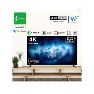 """Syinix 55"""" Smart 4k Uhd Television 