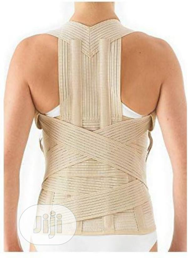 Orthosoft Thoracolumbar Lower, Mid Upper Back Support Beige