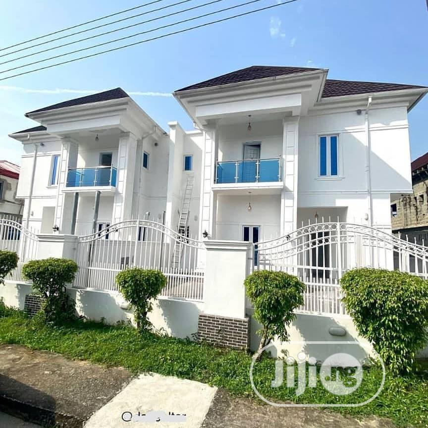 5 Bedroom Semi Detached Duplex With With A Library And BQ