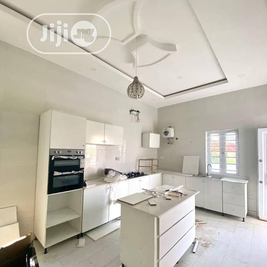 5 Bedroom Semi Detached Duplex With With A Library And BQ | Houses & Apartments For Sale for sale in Sangotedo, Ajah, Nigeria