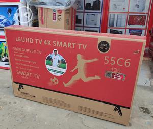 Brand New LG 55''inchs Curved 4k Uhd Smart Tv Digital Wifi   TV & DVD Equipment for sale in Lagos State, Ojo