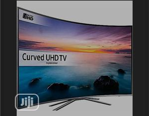 "Samsung 55"" 2019 Curved Smart 4K Uhd Ultra Slim Led TV | TV & DVD Equipment for sale in Lagos State, Ajah"