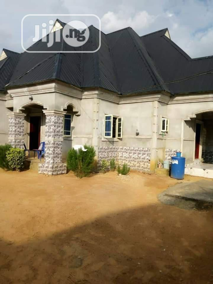 4 Bedroom Bungalow Alone in a Compound in Ozuoba at 18m