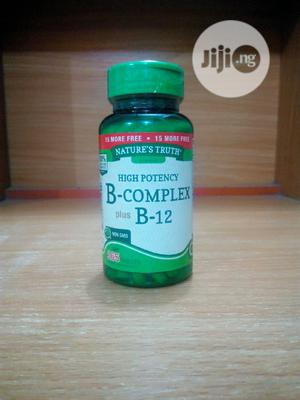 Nature's Truth High Potency B-Complex Plus B-12 X 165 | Vitamins & Supplements for sale in Lagos State, Surulere