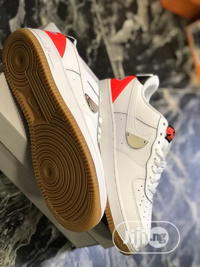 NBA X NIKE Air Force 1 Low Sneaker in White   Shoes for sale in Ikoyi, Lagos State, Nigeria