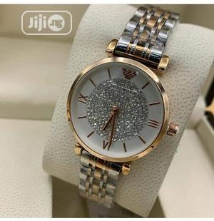 Emporio Armani Ladies Two Tone Color Wristwatch   Watches for sale in Lagos State, Ojodu