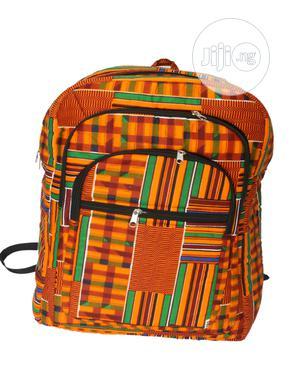Kente Print School Bag | Babies & Kids Accessories for sale in Lagos State, Ikeja