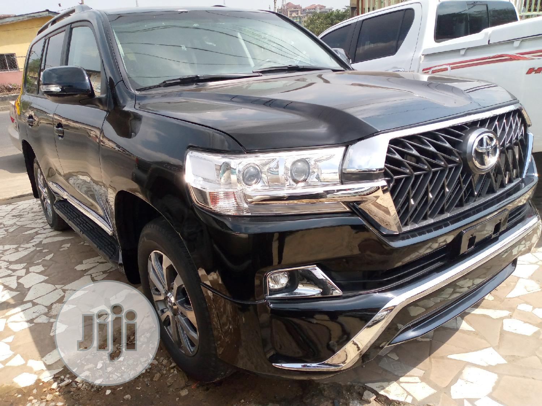 Toyota Land Cruiser 2015 4.0 V6 GX-R Black | Cars for sale in Ikeja, Lagos State, Nigeria