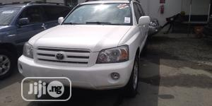 Toyota Highlander 2006 White   Cars for sale in Lagos State, Apapa