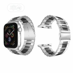 Stainless Strap For Apple Series 42mm/44mm /Silver | Smart Watches & Trackers for sale in Lagos State, Ikeja