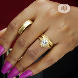 Rose Indiana Set Of Wedding Ring 001- Gold   Wedding Wear & Accessories for sale in Lagos State, Ojodu