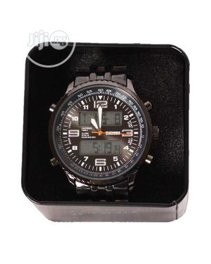 Skmei Multi-Function Digital Analog Sport Watch - Black | Watches for sale in Lagos State, Ogba