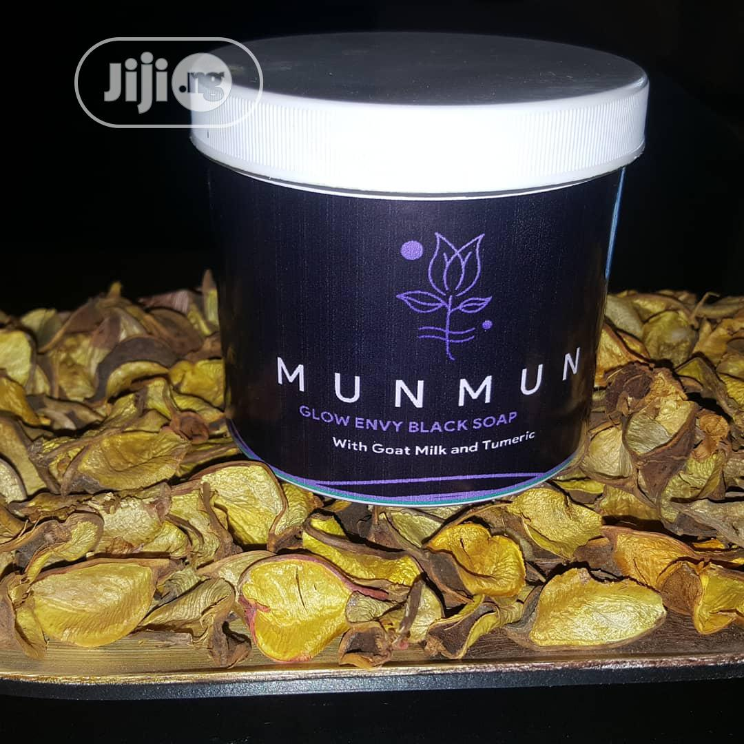 Munmun Organic Black Soap | Bath & Body for sale in Minna, Niger State, Nigeria